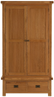 Oakham 2 Door 2 Drawer Wardrobe