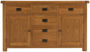 2 Door 6 Drawer Sideboard