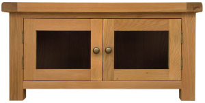 Oakham Standard TV Unit with Glass Doors