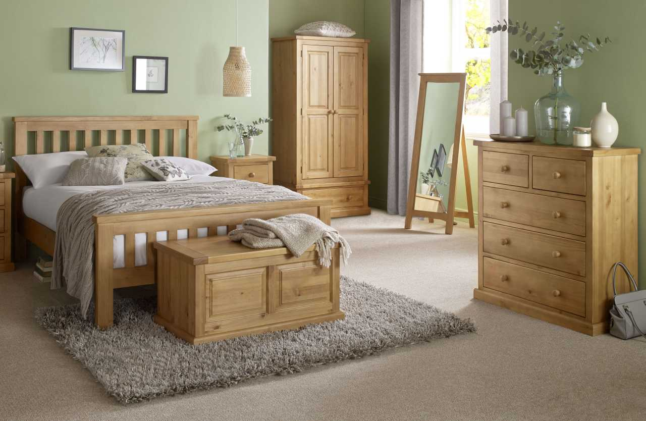 Country Pine Bedroom Range Countryside Furnishers